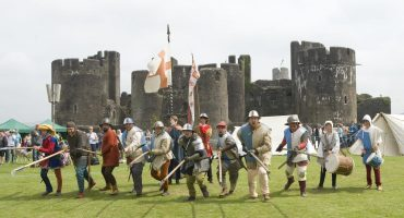 Big Cheese Re-anactment Charge at Castle